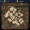 〈リネレボ〉北風の高原 宝箱マップ